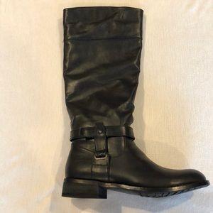 Never Worn, Sz 9 Bucco Black boots